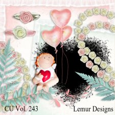CU Vol 243 Valentine Love Mix by Lemur Designs