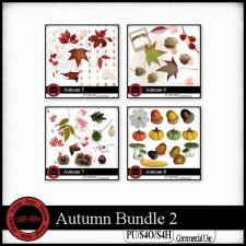 Autumn bundle 2 elements by Happy Scrap Arts