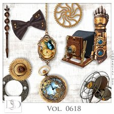Vol. 0618 Steampunk Mix by D's Design