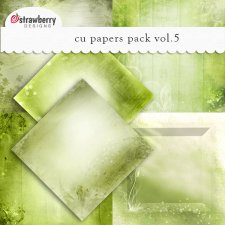 Papers Vol 5 Green by Strawberry Designs