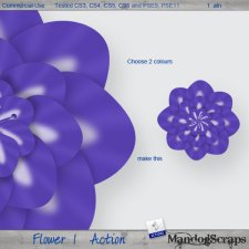 Flower1 Action by Mandog Scraps