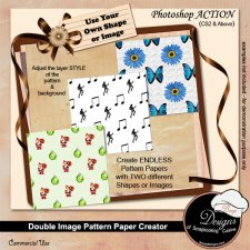 Image Paper Creator ACTION by Boop Designs