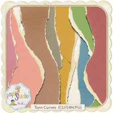 Torn Curves EXCLUSIVE by PapierStudio Silke