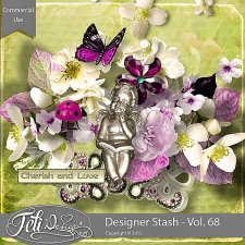 Designer Stash Vol 68 - CU by Feli Designs