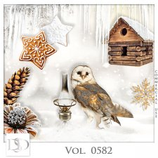 Vol. 0582 Winter Mix by D's Design