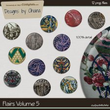 Flairs Vol 5 - Vintage History - EXCLUSIVE Designs by Ohana