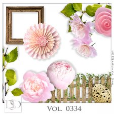 Vol. 0334 to 0337 Spring Nature Mix by D's Design