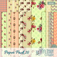 Paper Pack 16 Pathy Design