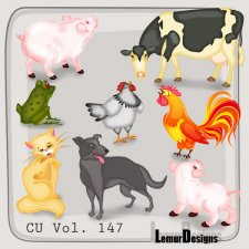 CU Vol 147 Animals Pack 11 by Lemur Designs
