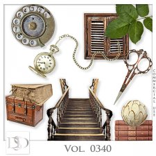 Vol. 0340 to 0342 Vintage Mix by D's Design