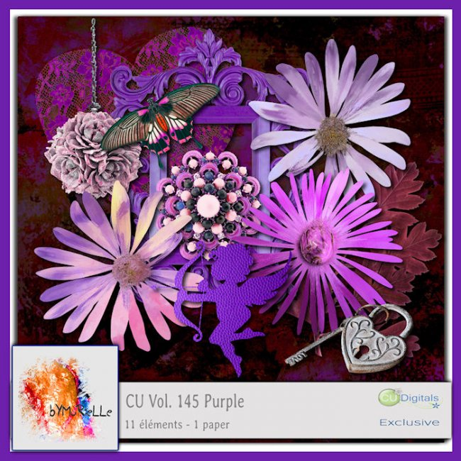Vol 145 Purple Elements EXCLUSIVE bymurielle