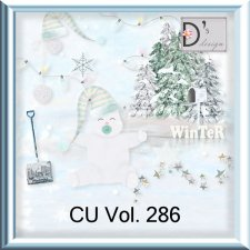 Vol 286 Winter Christmas by Doudou Design