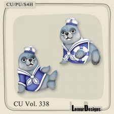 CU Vol 338 Animal Robbe by Lemur Designs