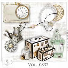 Vol. 0832 Vintage Mix by D's Design