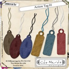 Tag Action 01 by Cida Merola