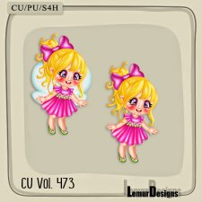 CU Vol 473 Spring Fairy by Lemur Designs