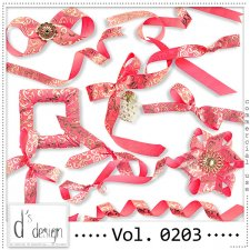 Vol. 0203 Ribbons Mix by Doudou Design