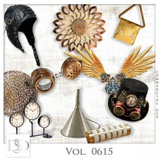 Vol. 0615 Steampunk Mix by D's Design