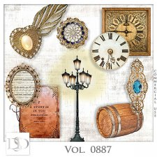 Vol. 0887 Vintage Mix by D's Design