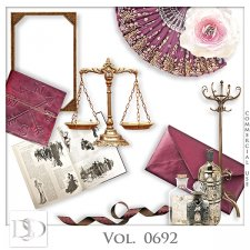 Vol. 0688 to 0692 Vintage Mix by D's Design
