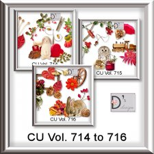 Vol. 714 to 716 Autumn Mix by Doudou Design