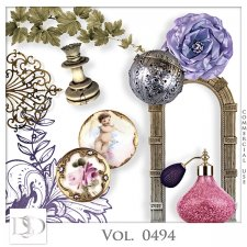 Vol. 0494 Vintage Mix by D's Design