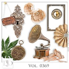 Vol. 0369 Vintage Mix by D's Design