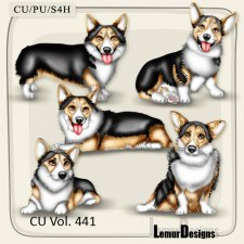 CU Vol 441 Dogs by Lemur Designs