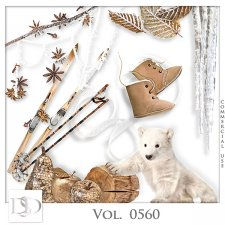 Vol. 0560 Winter Mix by D's Design