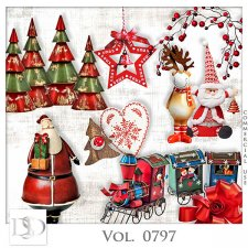 Vol. 0795 to 0798 Winter Christmas Mix by D's Design