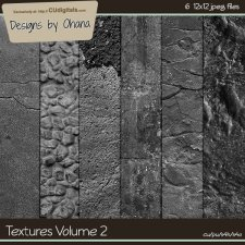 Paper Textures Vol 2 - EXCLUSIVE Designs by Ohana