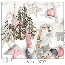 Vol. 0792 Winter Christmas Mix by D's Design