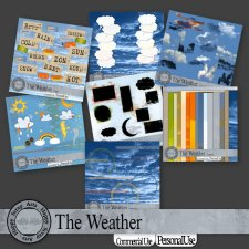 The Weather bundle by Happy Scrap Art