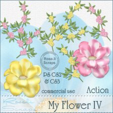 Action - My Flower IV by Rose.li
