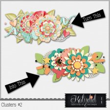 Clusters Layered Templates Pack No 2