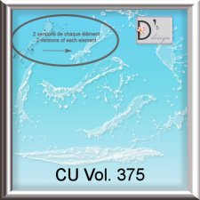 Vol. 375 Water Splash Mix by Doudou Design