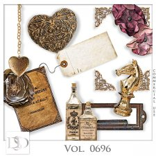 Vol. 0696 Vintage Mix by D's Design