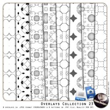 Overlays Collection 23 by MoonDesigns