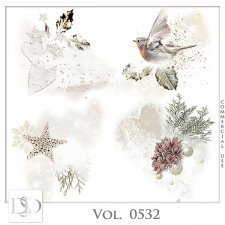 Vol. 0532 Winter Christmas Accents by D's Design