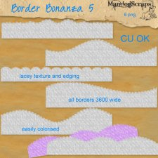 Border Bonanza 5 by Mandog Scraps