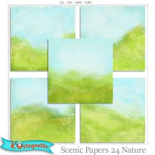 Scenic Papers 24 Nature by Kastagnette