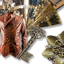 Vol. 656 Steampunk Mix by Doudou Design
