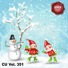 CU Vol 351 Christmas Winter by Lemur Designs