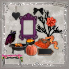 Vol 75 Halloween Elements EXCLUSIVE byMurielle