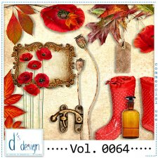 Vol. 0064 Autumn Mix by Doudou Design