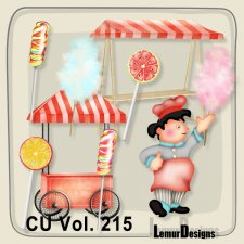 CU Vol 215 Food Elements Pack 2 by Lemur Designs