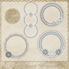 Layered Frame Templates 2 by Josy