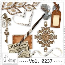 Vol. 0237 Vintage Mix by Doudou Design