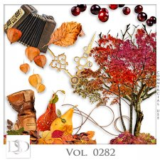 Vol. 0282 Autumn Mix by D's Design