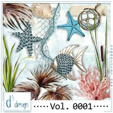 Vol. 0001 Beach Mix by Doudou Design
